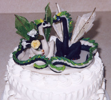 Dragonfolk Studios - Wedding Cake Toppers