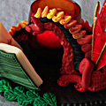 Literate Dragon - Flame